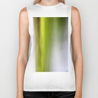 Abstract Reedbed Biker Tank