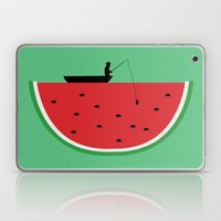 Watermelon Fisher Laptop & iPad Skin