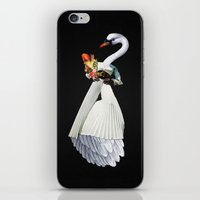 Only the Queen Can Eat Swans iPhone & iPod Skin