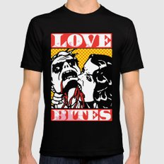 Love Bites Mens Fitted Tee SMALL Black