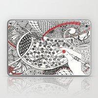 Red Line Laptop & iPad Skin