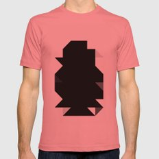 Odd Black Mens Fitted Tee Pomegranate SMALL