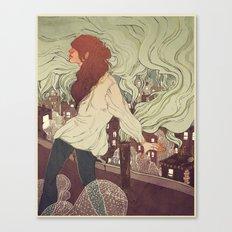Pollutants Canvas Print