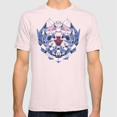 LEECH LIFE Mens Fitted Tee Light Pink SMALL