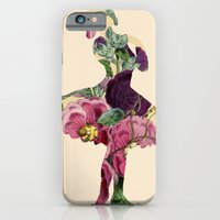 iPhone & iPod Case featuring Flower ballerina by TatiAbaurreDesigns