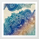 Mermaid Princess  Art Print