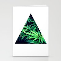 Smoke Weed Stationery Cards