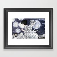 Duality Discovered Framed Art Print
