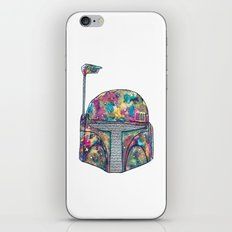 Boba Fett Galaxy iPhone & iPod Skin