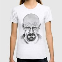 Walter White Womens Fitted Tee Ash Grey SMALL