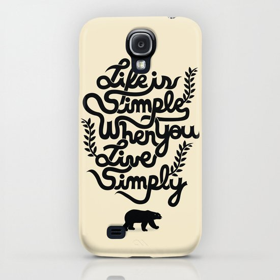 Life is simple iPhone & iPod Case