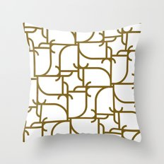 A Geometric Pattern Throw Pillow