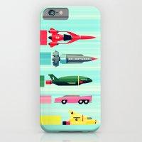 iPhone & iPod Case featuring THUNDERBIRDS! by John Medbury (LAZY J Studios)