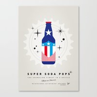 My SUPER SODA POPS No-14 Canvas Print