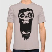 Ghost of a Whaler Mens Fitted Tee Cinder SMALL
