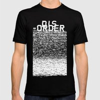 Dis-order (Inverted) Mens Fitted Tee Black SMALL