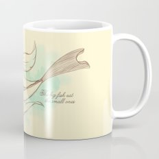 The big fish eat the small ones Mug