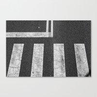 Asphalt Canvas Print