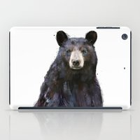 Black Bear iPad Case