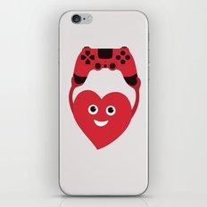 Gaming Heart iPhone & iPod Skin
