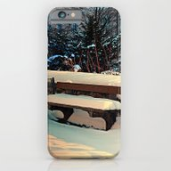 Snow Covered Bench iPhone 6 Slim Case