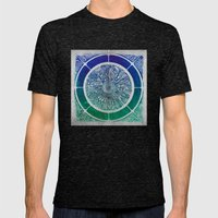 Present Growth Mens Fitted Tee Tri-Black SMALL