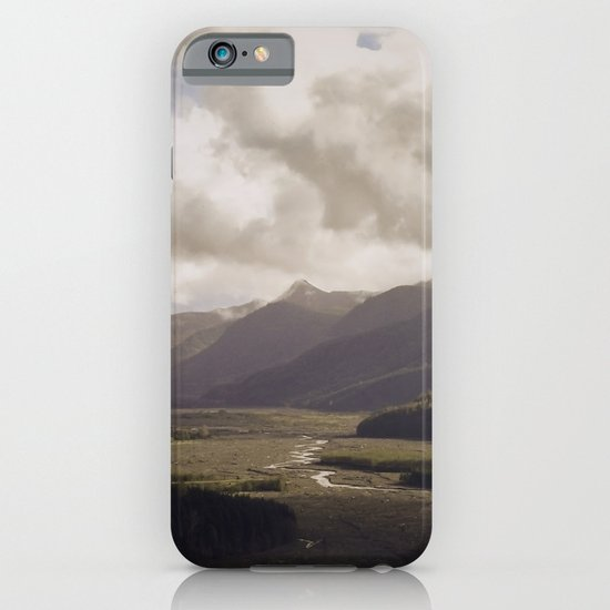 Toutle River Valley iPhone & iPod Case