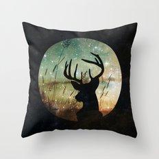 Deer 2 Throw Pillow