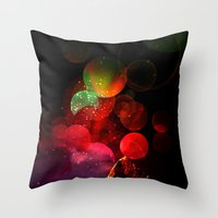 It All Started with a Bang Throw Pillow