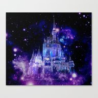 Fantasy Castle Canvas Print