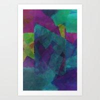 Shapes#4 Art Print