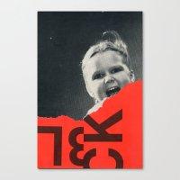let it out Canvas Print