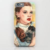 iPhone Cases featuring I Don't Think We're In Kansas Anymore by Helen Green