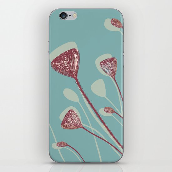 Organic shape iPhone & iPod Skin