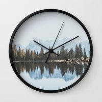 Italian Dolomites (landscape version) Wall Clock