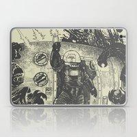 Space Slugs Die Easy Laptop & iPad Skin