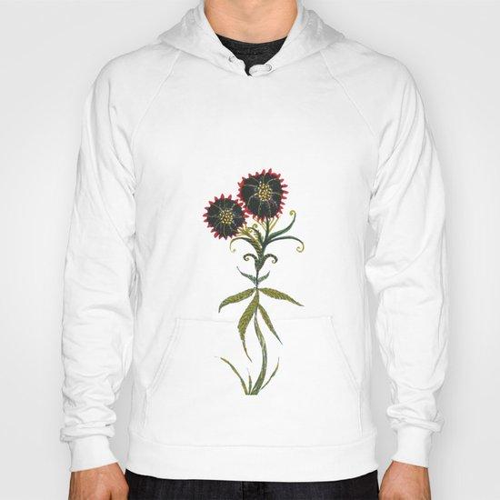 black flower Hoody