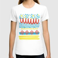 T-shirt featuring Parallel Shapes by Gareth Leyshon
