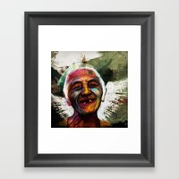 Old Framed Art Print