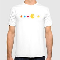Missing Piece Mens Fitted Tee White SMALL