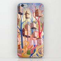 High-Rise Wilderness iPhone & iPod Skin