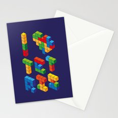 I Heart Tetris Stationery Cards