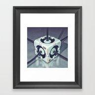Evocube Framed Art Print