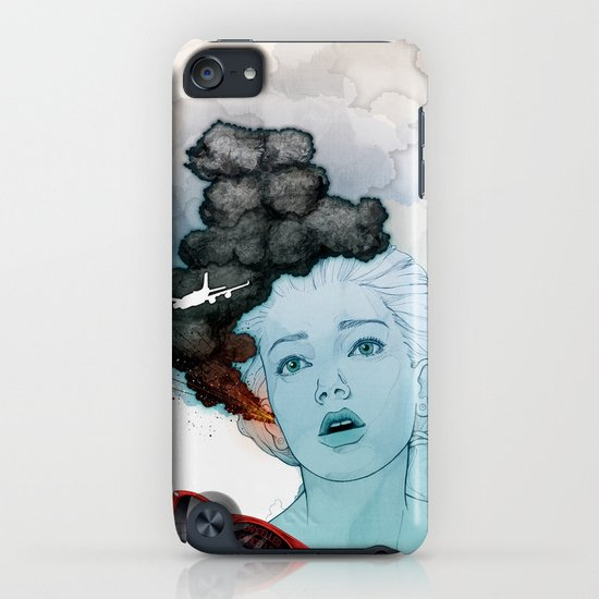 Volcan-oh-no! iPhone & iPod Case