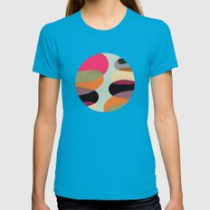 Total Balance Womens Fitted Tee Teal SMALL