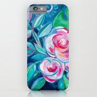 Tropical Camellia Extravaganza - oil on canvas iPhone 6 Slim Case