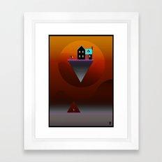 Go get the mail! Framed Art Print