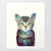 Cat // Aware Art Print