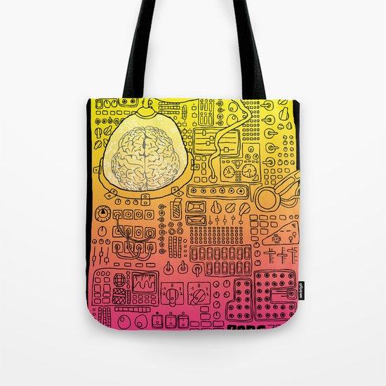 Borg 3000: ANALOG  Tote Bag