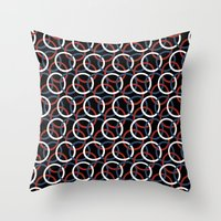 Olympica Black Throw Pillow